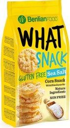 What Snack kukuřičný s příchutí mořská sůl a bez lepku