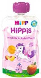 Hipp BIO Kapsička Hippis jablko-broskev-mirabelka