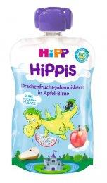 HiPP BIO Kapsička Hippis jablko-hruška-dračí ovoce-černý rybíz