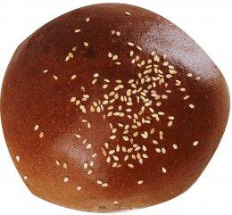 Merhautovo Pekařství Hamburgerová bulka tmavá, mléčná se sezamem