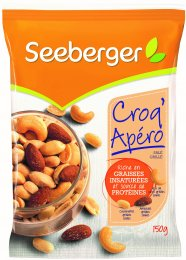 Seeberger Croq' Apéro - směs ořechů