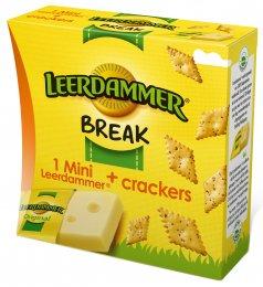 Leerdammer Break (sýr a krekry)