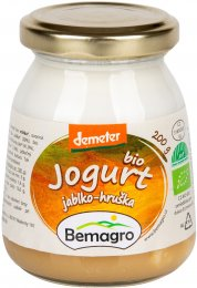 Bemagro BIO Jogurt jablko a hruška