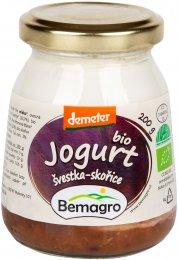 Bemagro BIO Jogurt švestka a skořice