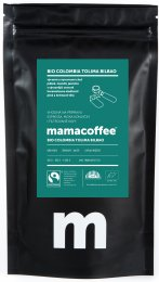 Mamacoffee BIO Zrnková káva Colombia Tolima Bilbao