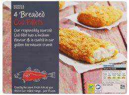 Marks & Spencer Obalené filety z tresky