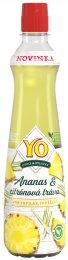 YO Sirup bylinky, ananas a citronová tráva