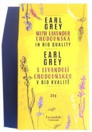 Levandule Chodouňská BIO Černý čaj Earl Grey