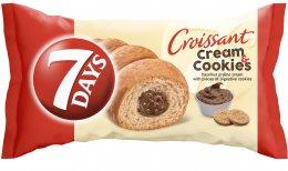 7DAYS Croissant oříšek+cookies
