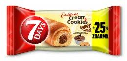 7DAYS Super max croissant oříšek+cookie