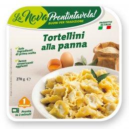 La Nova Prontintavola Tortellini plněné masem se smetanovou omáčkou