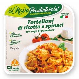 La Nova Prontintavola Tortelloni plněné ricottou a špenátem v tomatové omáčce