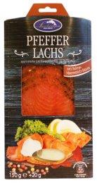 Lashinger Uzený Marinovaný losos - pepř a křenová omáčka