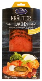 Lashinger Uzený Marinovaný losos - Toscana a křenová omáčka