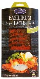 Lashinger Uzený Marinovaný losos - bazalka a medová hořčice