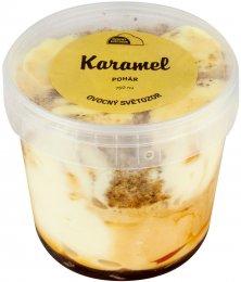 Ovocný Světozor zmrzlina karamelová