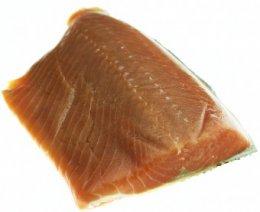 Divoký losos Keta filet s kůží