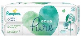Pampers Aqua Pure vlhčené ubrousky 2x48 ks
