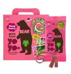 Bear YOYO želé - malina 5x20g
