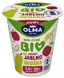 Olma BIO Jogurt jablko-hruška