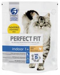 Perfect Fit Indoor granule pro dospělé kočky Bohaté na kuře 750g