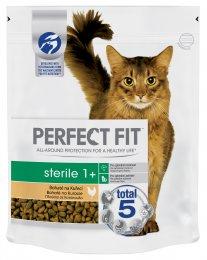 Perfect Fit Sterile granule pro dospělé kastrované kočky Bohaté na kuře 750g