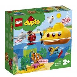 LEGO® DUPLO® Dobrodružství v ponorce 10910