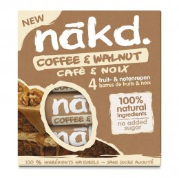 Nakd Coffee & walnut multipack 4x35g