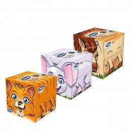 Zewa Kids Papírové kapesníky 3vrstvé box, 60ks