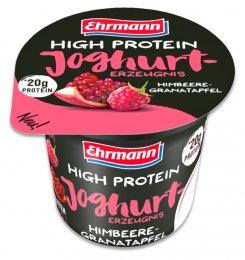 Ehrmann High Protein jogurt malina - granátové jablko