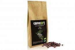 Coffee UP! - Bio Peru Diomer Perez čerstvě pražená 100% arabica v kompostovatelném obalu