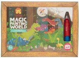 Tiger Tribe Magic painting world Dinosauři