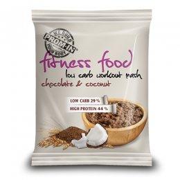 PROM-IN Fitness Food Low carb workout mash čokoláda/kokos