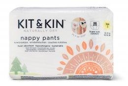 Kit & Kin Eko plenkové kalhotky 15-18 kg, pull-ups (velikost 5)