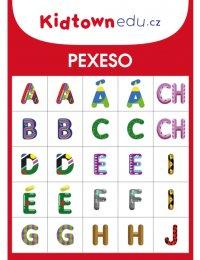 Better Brand Pexeso písmena