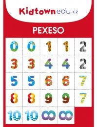 Better Brand Pexeso čísla