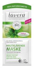 Lavera BIO Hloubková čisticí maska Máta, sůl z mrtvého moře & minerální jíl