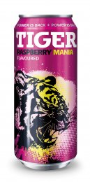 Tiger energy drink Rasberry