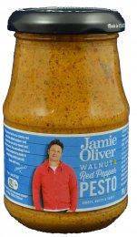 Jamie Oliver Ořechovo-paprikové pesto