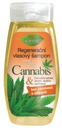 Bione cosmetics BIO Cannabis regenerační výživný šampon