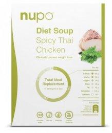 NUPO dieta Pikantní thajská polévka