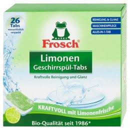 Frosch EKO Tablety do myčky Citrón
