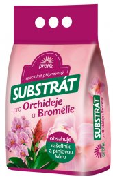 Profík Substrát s kůrou pro orchideje a bromélie
