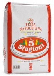 5 Stagioni hladká mouka typu 00 na neapolskou pizzu