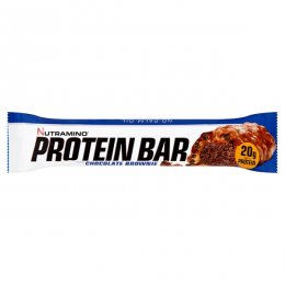 Nutramino Proteinová tyčinka křupavý čokoládový brownie