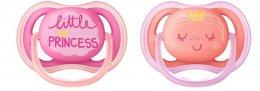 Philips AVENT Šidítko Ultra air Deco 6-18 měsíců dívčí