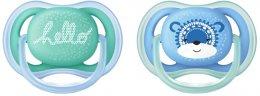 Philips AVENT Šidítko Ultra air Deco 6-18 měsíců chlapecké