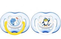 Philips AVENT Šidítko Sensitive 18+ měsíců chlapecké