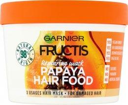 Garnier Fructis Papaya Hair Food maska pro poškozené vlasy