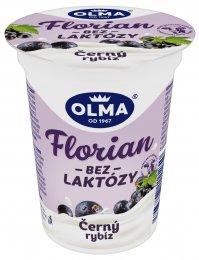 Olma Florian jogurt bez laktózy černý rybíz